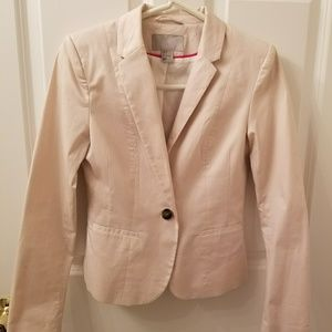 H&M Peony Pink Fitted Blazer
